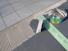 Lepení (montáž) dlažby na balkon formát 40x40 - 60x60