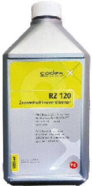 Čistící prostředek cementových závojů a výkvětů CODEX RZ 120 1l