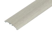 Přechodová lišta Cezar narážecí 30mm 2,7m dub šedý