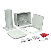 Elektroinstalační krabice Kopos do zateplení s otevíracím víkem 156x196x273mm