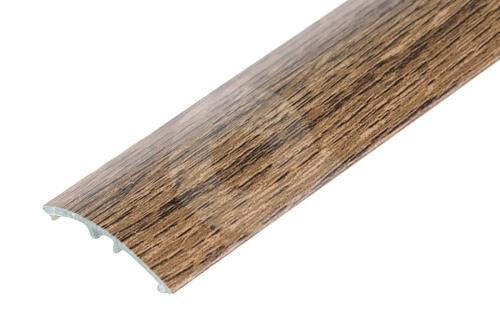 Přechodová lišta Cezar narážecí 30mm 2,7m dub pálený