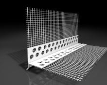 Nadokenní plastový profil LTD Weber s okapničkou 2,5m