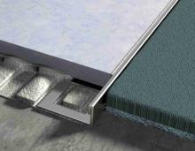 Lišta LIGMA ukončovací L profil nerez kartáčovaná 20mm 2,5m