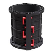 Plastové bednění pro betonáž sloupů kruhového průřezu pr. 70cm Geotub