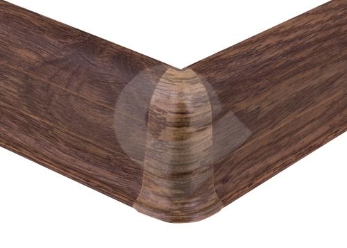 Cezar PREMIUM vnější roh, PVC, 59mm, dub bahenní, dekor 156