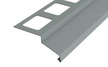 Balkonový profil RAL 7001 šedý 2m
