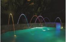 Barevný vodní paprsek Magicstream Laminar LED 12V