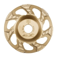 Diamantový kotouč Cup Wheel 2 Gold Redimax 125mm zrnitost 30/40