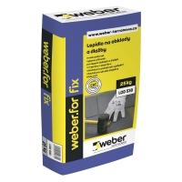 Lepidlo flexibilní mrazuvzdorné Weber.for fix C2T 25kg